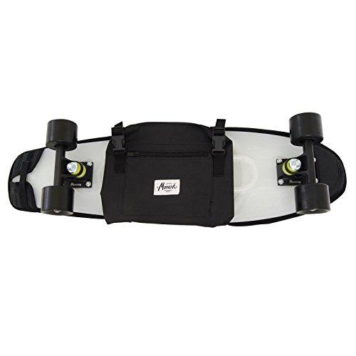 """monark supply Skateboard Rucksack für Cruiser 26-27\"""" - Schwarz"""