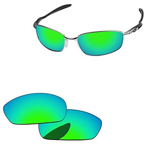 PapaViva - Lentes de repuesto para batidora de Oakley, Pro+ Bluish Green Polarized, Blender
