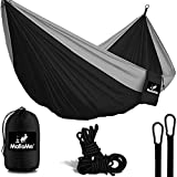 MalloMe Camping Hammock With Ropes - Double & Single Tree Hamock Outdoor Indoor 2 Person...