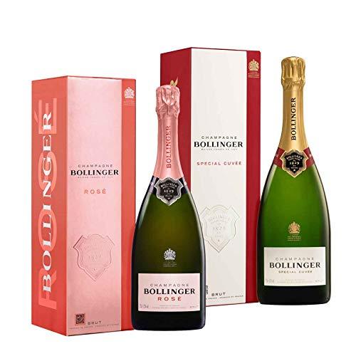 Exklusive Champagner im Geschenkset (Bollinger 2x0,75l)
