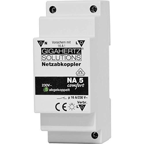Gigahertz Solutions Netzabkoppler 1 St. NA5 Schaltspannung (max.): 230 V/AC 16 A 2300 W Restwelligkeit: 8 mV