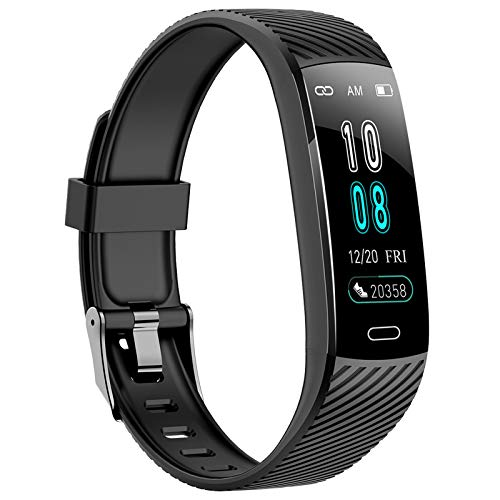 ASWEE Fitness Trackers - Activity Tracker Watch with Heart Rate Blood Pressure Monitor, Waterproof Watch with Sleep Monitor, Calorie Step Counter Watch for Women Men Compatible Android iPhone