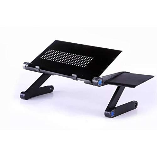 Yhtech Modern Portable ajustable del ordenador portátil plegable de la tabla del escritorio del ordenador soporte de bandeja for mesitas Útil Muebles Salón Comedor Utilizado en espacio pequeño para co