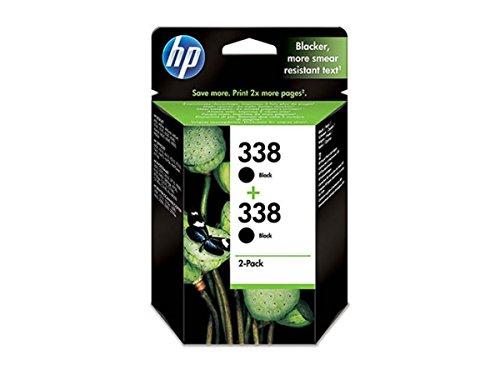 HP - Hewlett Packard DeskJet 6830 V (338 / CB 331 EE) - original - 2 x Druckkopf schwarz - 450 Seiten - 11ml