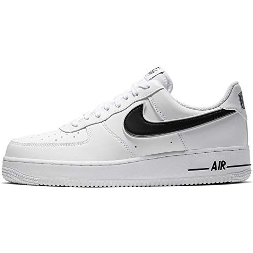 Nike Air Force 1 07 3, Zapatos de Baloncesto para Hombre, Blanco (White/Black 101), 52.5 EU
