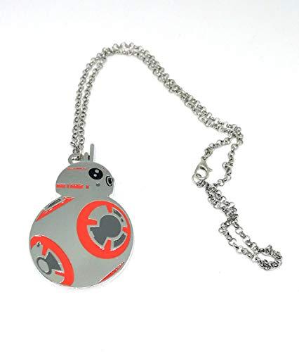 Star Wars Film Schmuck Millennium BB-8 Metall Anhänger Halskette für Fans