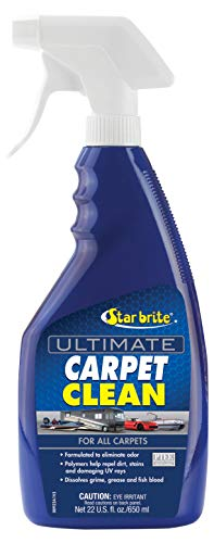 Star brite Carpet Clean & Protect 22 oz Spray - Dissolves Grease, Grime, Odor & Repels Future Stains on All Rugs