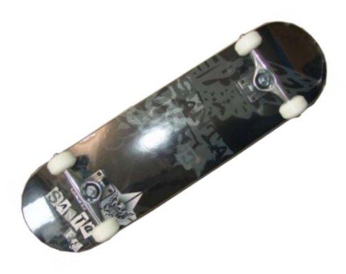 Aladdin Santa Fe Skateboard Komplettboard Black - Profi Board komplett - 8.0 inch