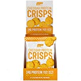 MusclePharm Protein Cheese Crisps, 14g Protein, Cheddar, 1 Ounce, 12 Count from AmazonUs/MUSZM