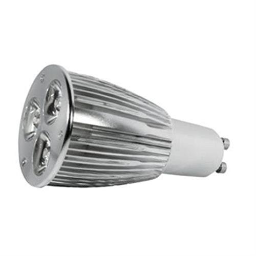 Alcasa Power LED, GU10, 230V, 7,5W, 240lm, Ø 50 x 100mm, 4000K, Abstrahlwinkel: 15°, dimmbar, CRI-Wert: 90, warmweiß
