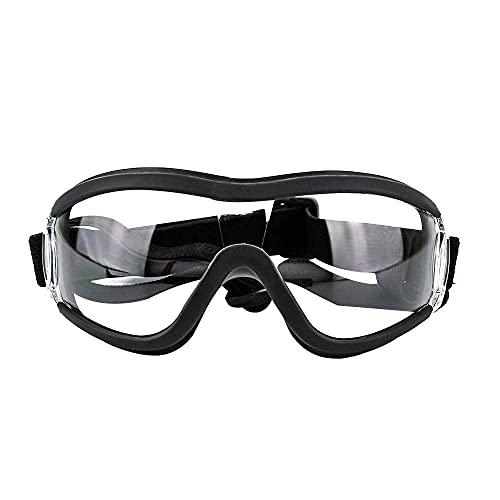 CJBIN Hundebrille, Verstellbare Hunde Sonnenbrille, Geeignet für UV-Schutz, Wind und wasserdichte Schutzbrille für Mittlere und Große Hunde