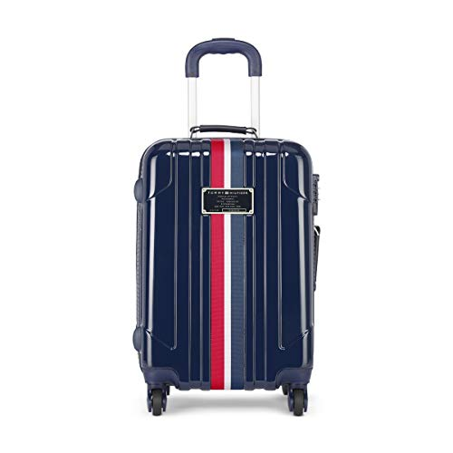 Tommy Hilfiger ABS 55 cms Navy Hardsided Cabin Luggage (TH/LOCHWOODPROHL08055)