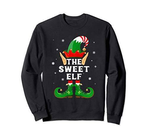 The Sweet Elf Matching Family Group Christmas Gift Felpa