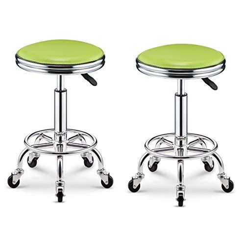 ZUOANCHEN barkruk draaistoel multicolor verstelbare tafel en stoel 5 rollen make-up work kruk hydraulische gasveer kruk kapper manicure tattoo