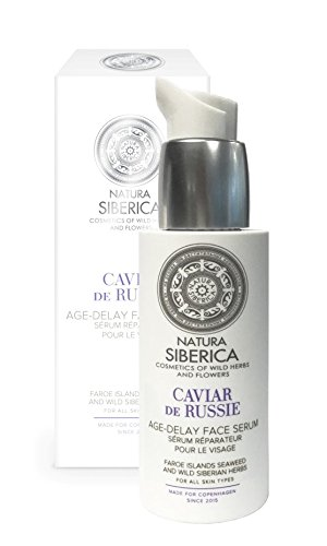 Natura Siberica Serum Facial Anti-Age, Caviar de Rusia - 30 ml