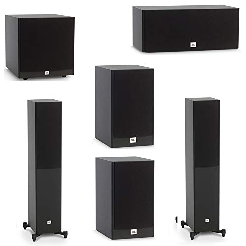 Review Of JBL 5.1 System with 2 JBL Stage A190 Floorstanding Speakers, 1 JBL Stage A125C Center Spea...