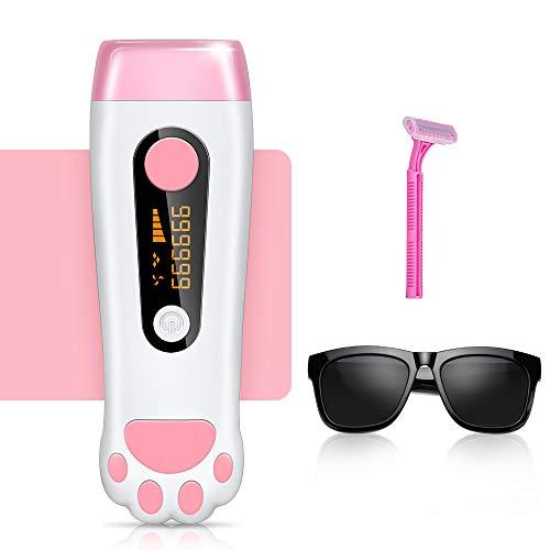 IPL Haarentfernungsgerät 999999 Blitze Laser Rasierer Haarentfernung system für Frauen und Männer,Dauerhafte und schmerzlose Haarentfernung für Körper