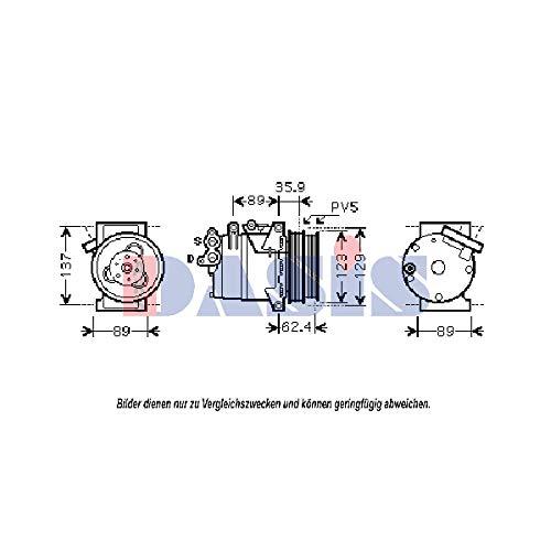 AKS Dasis 851829N Compresor, aire acondicionado