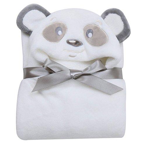 Tongchou Sortie de Bain a Capuche Peignoir de Bain Bebe Serviette Drap de Bain Bebe Panda
