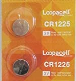 Loopacell CR1225 Thermometer Batteries 2 Pack