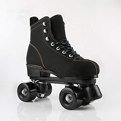 LAYBAY Patines de Ruedas Patin Roller Patines Zapatillas Quad Roller Polea Los Patines De Hielo para El Adulto Deportes Al Aire Libre De Deporte Rodillo Shoes Sneakers