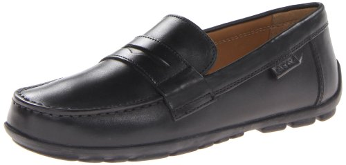 Geox Boys Fast Loafers J34G5F00043C9999 Black 9 UK Child 27 EU