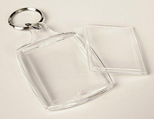 Schlüsselanhänger Acryl 3,5x4,5 Foto/Bild/Werbung TOP !!