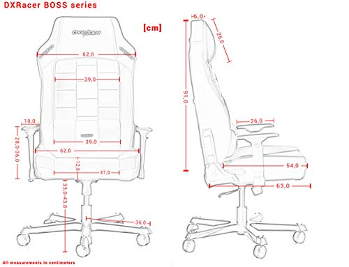 DXRacer (das Original) Boss B120 Gaming Bild 5*