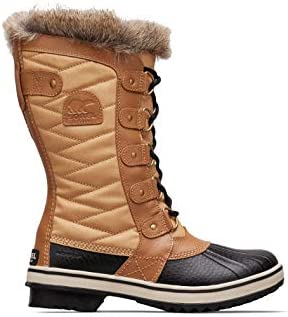 SOREL Women s Tofino II Waterproof Insulated Winter Boot with Faux Fur Cuff Curry Fawn 7 5 M product image
