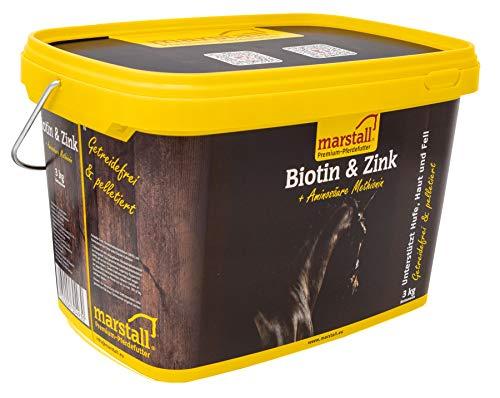 marstall Premium-Pferdefutter Biotin + Zink, 1er Pack (1 x 3 kilograms)