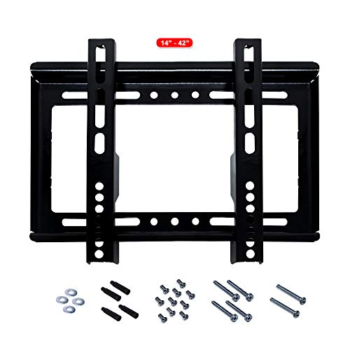 "link bits F1442N01 Soporte para TV, Adaptable a Pantalla de 14"" – 42"", hasta 25 Kg de Carga, Pantallas LED, LCD, PDP, y Smart TV"