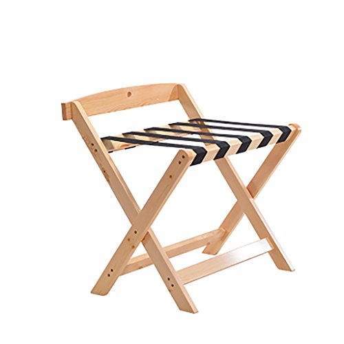 Affordable Hotel luggage rack Luggage Rack ,Hotel Room Foldable Solid Wood Suitcase Holder, Luggage Rack Shelving Suitcase Backpack
