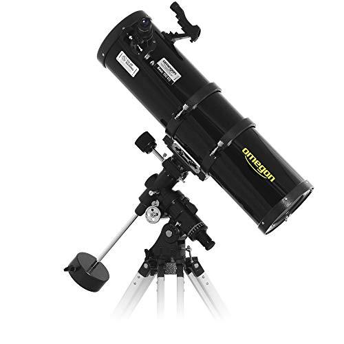 Omegon Teleskop N 150/750 EQ-4, Fernrohr für die Astronomie mit 150mm Öffnung und 750mm Brennweite