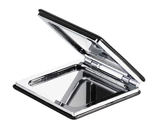 KTX7® Taschenspiegel X.4 mit magnetischem Verschluss (Schwarz)
