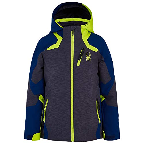 Spyder Leader Jungen Repreve Primaloft Ski Jacke grau - 152