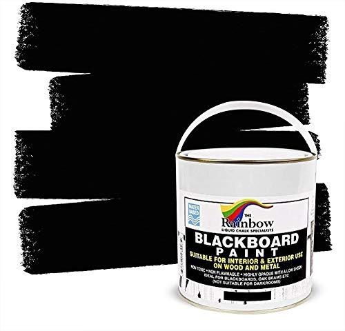 Blackboard Paint - 1 Litre tin Ideal for creating or restoring chalkboards