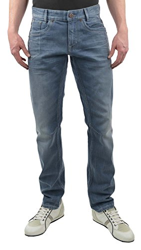 PME Legend Herren Jeans Skymaster Stretch Denim Regular Fit Blue (82) 36/32