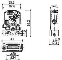 戸車(K-39717) YW:ホワイト