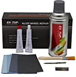 Eastup 80003 Alloy Wheel Repair Kit Alloy Rim Scrapes Scratches Remover (Color: Silver)