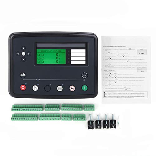 WAQU Controlador Accesorios para generador-Grupo electrógeno Diesel Controlador DSE8610 MKII Sistema de distribución de Carga Arranque automático Parada