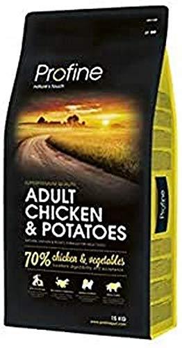 Glooke Selected Adult Pollo y Patatas alimento Perro seco Premium, Multicolor, único