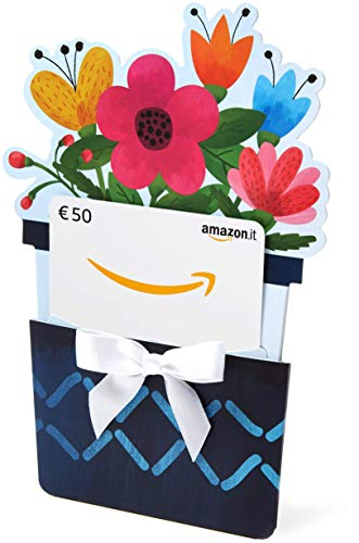 Buono Regalo Amazon.it - €50 (Busta di Fiori)