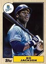 2017 Topps 1987 Topps #87-32 Bo Jackson Baseball Card - Kansas City Royals