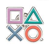 PlayStation コントローラーアイコン ラペルピン 1個