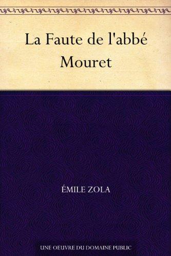Couverture du livre La Faute de l'abbé Mouret