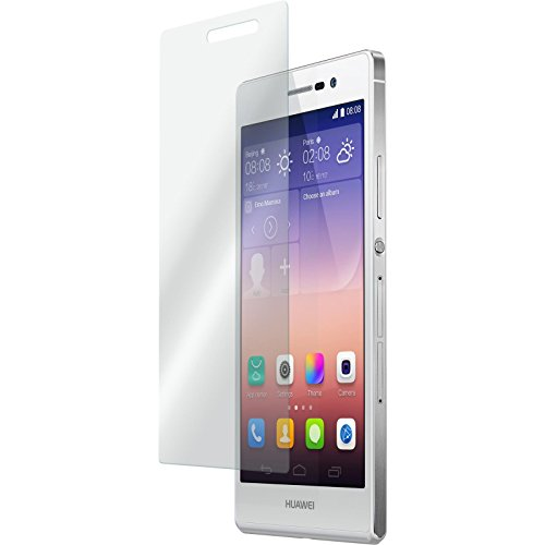 3 x Glas-Folie klar für Huawei Ascend P7 PhoneNatic Panzerglas für Ascend P7