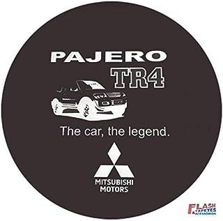 Capa de Estepe Pajero TR4 Flash Tapetes PAJERO TR4 ARO 17