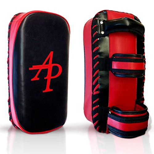 Kampfsport Training Kick Pratze, Sport Schlagschild, MMA Schlagpolster, Muay Thai Pratzen, Thaipads, Pad (vorgekrümmt), Trainerpratzen (EINZELTEIL)