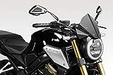CB650R 2019/20 - Kit Carenabris 'Warrior' (R-0916) - Parabrisas Lunas Cúpula de Aluminio - Tornillería Incluido - Accesorios De Pretto Moto (DPM Race) - 100% Made in Italy