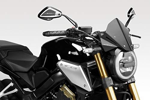 CB650R 2019/21 - Windschutzscheibe 'Warrior' (R-0916) - Aluminium Windschild Windabweiser Scheibe - Hardware-Bolzen Enthalten - Motorradzubehör De Pretto Moto (DPM Race) - 100% Made in Italy